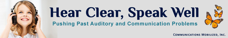 Hear Clear, Speak Well banner image